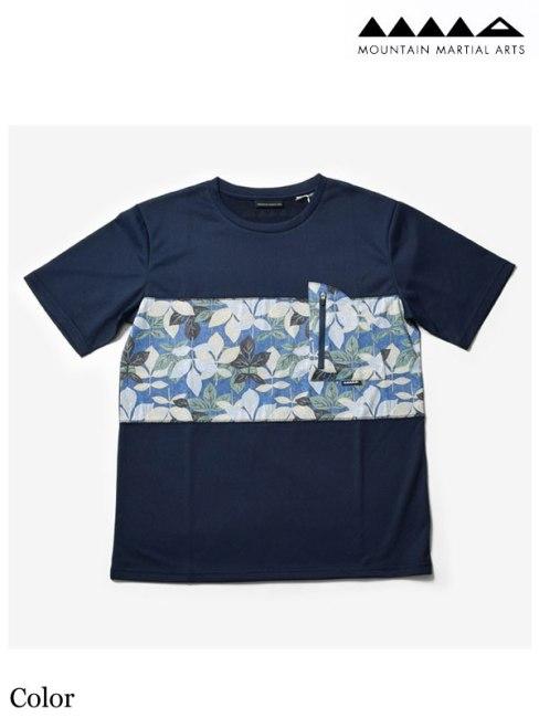 MMA,マウンテンマーシャルアーツ ,MMA Botanical Panel Pocket Tee #Color , MMA ボタニカル パネル ポケット Tシャツ