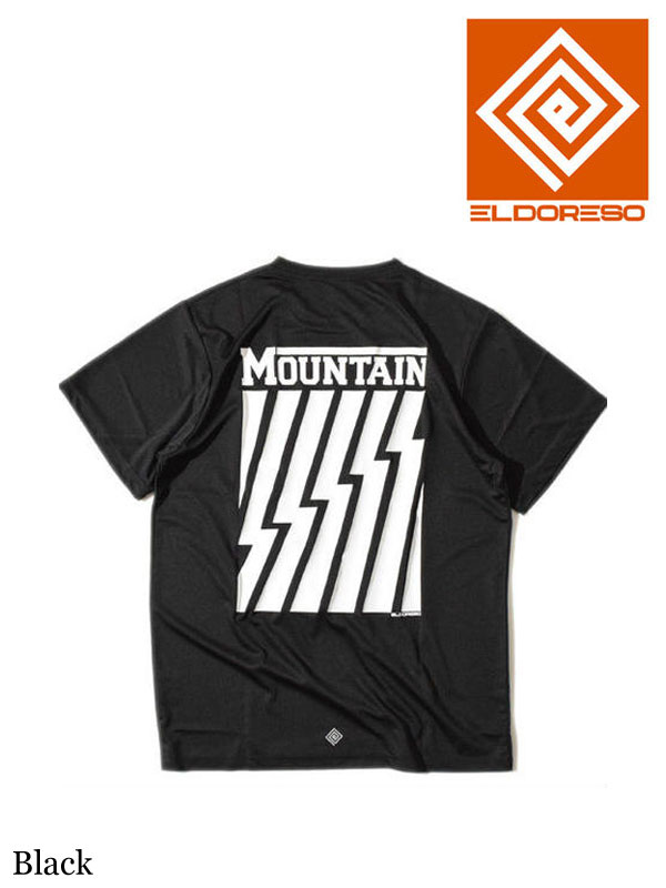 ELDORESO,Mountain T #Black ,マウンテンT