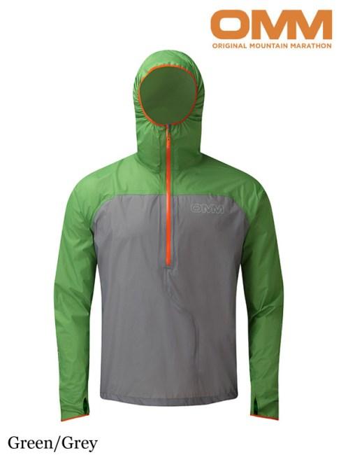 OMM,オリジナルマウンテンマラソン ,Halo Smock #Green/Grey ,ヘイロ スモック