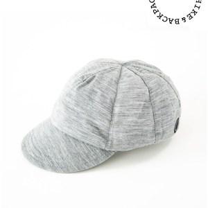 山と道|Merino Cap #Grey Marl