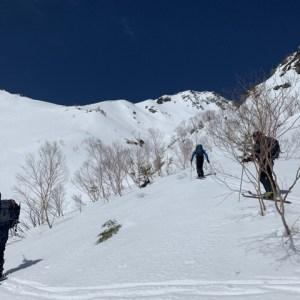 焼岳バックカントリースノーボード 2019.3.26
