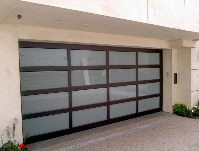 Modern Garage Windows