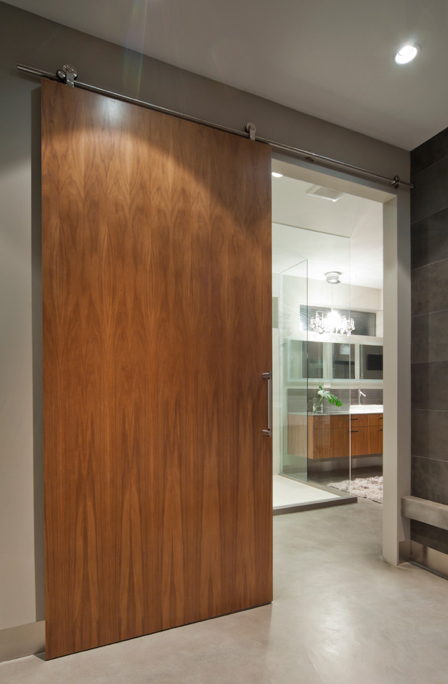 Large Modern Oversized Interior Sliding Door
