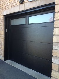 Modern Fiberglass Garage Doors-Modern Garage door with ...