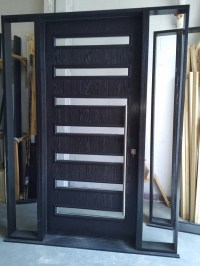 Custom Modern Door-Custom Exterior Modern Door with 2 site ...