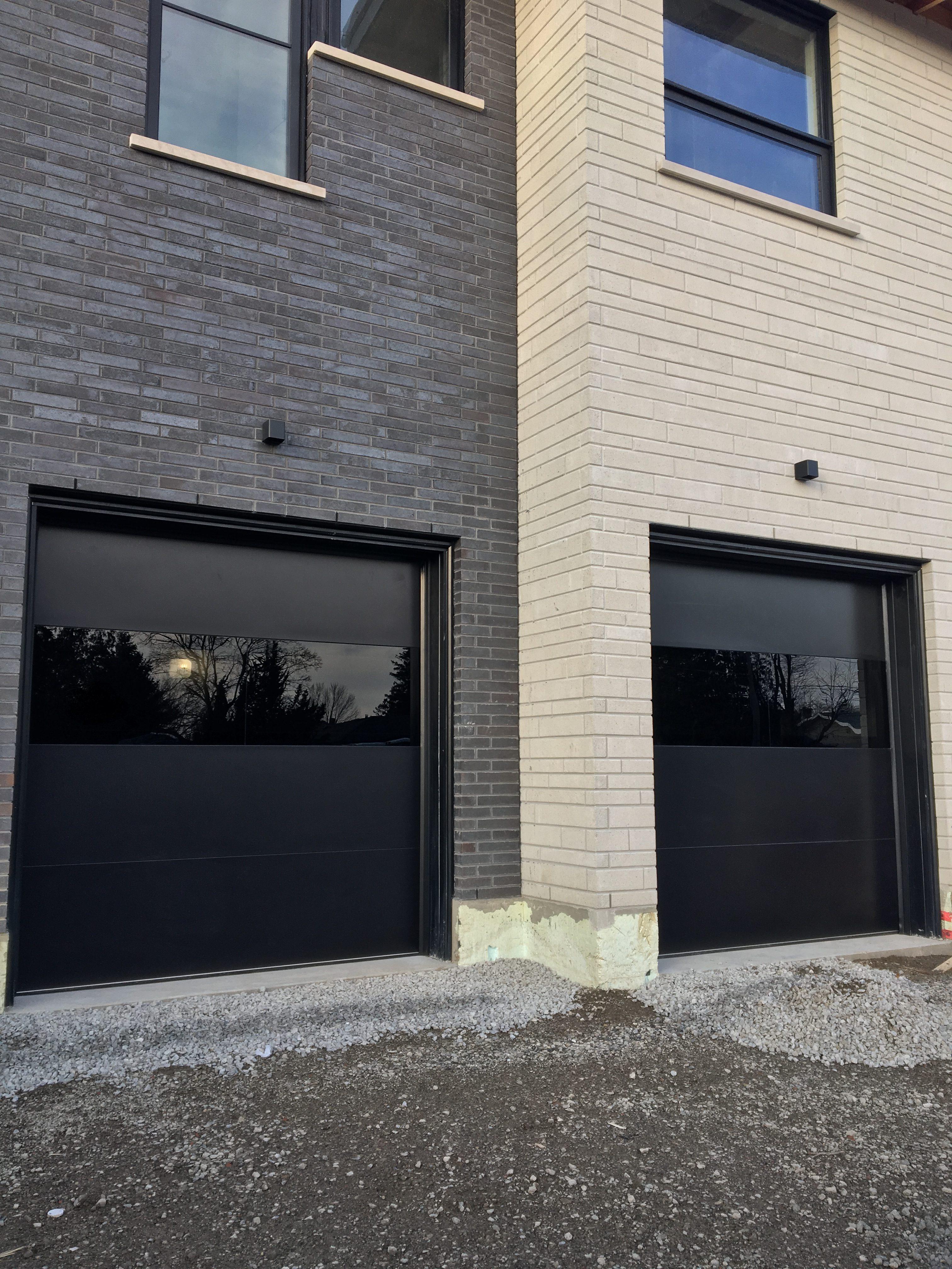 Modern Exterior Garage Doors Woodbridge  Modern Doors
