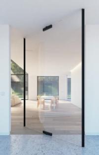 Pivot Doors Exterior & Pivot Door Wood Dwelling In With ...