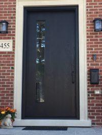 Modern Black Exterior Door Ontario - Modern Doors