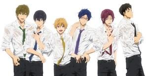 Anime Club: Free: Iwatobi Swim Club