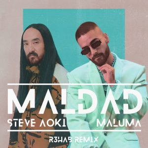 "Powerhouses Dive Into Latin, R3HAB Drops Remix of Steve Aoki & Maluma's ""Maldad"""