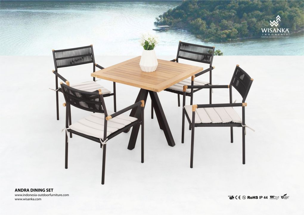 Andra Modern Outdoor Dining Sets
