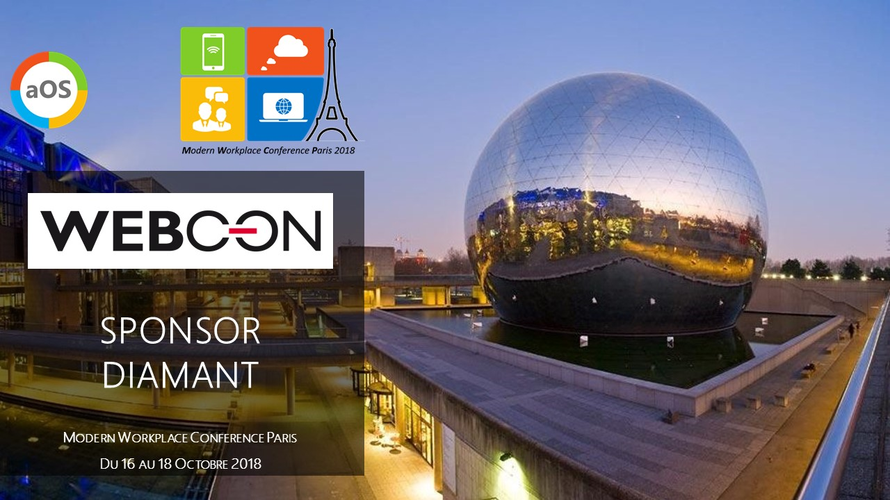 Annonce Sponsor Webcon MWCP