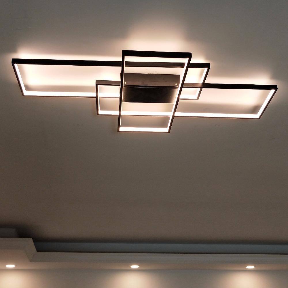 Rectangular Modern Led Ceiling Light  Blocks Modernplace