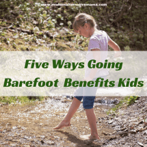 Benefits Walking Barefoot Outside