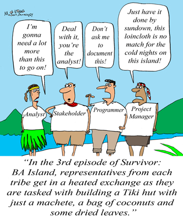 Survivor Business Analyst Island Edition Business Analyst Community Resources Modern Analyst