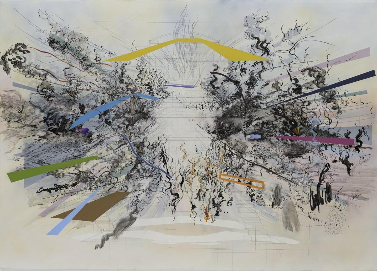 Julie Mehretu Art