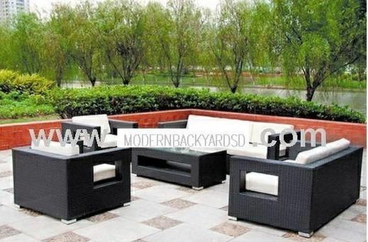 modern backyards furniture san diego