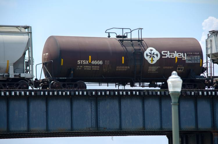 Bioethics obesity and corn syrup transported by train