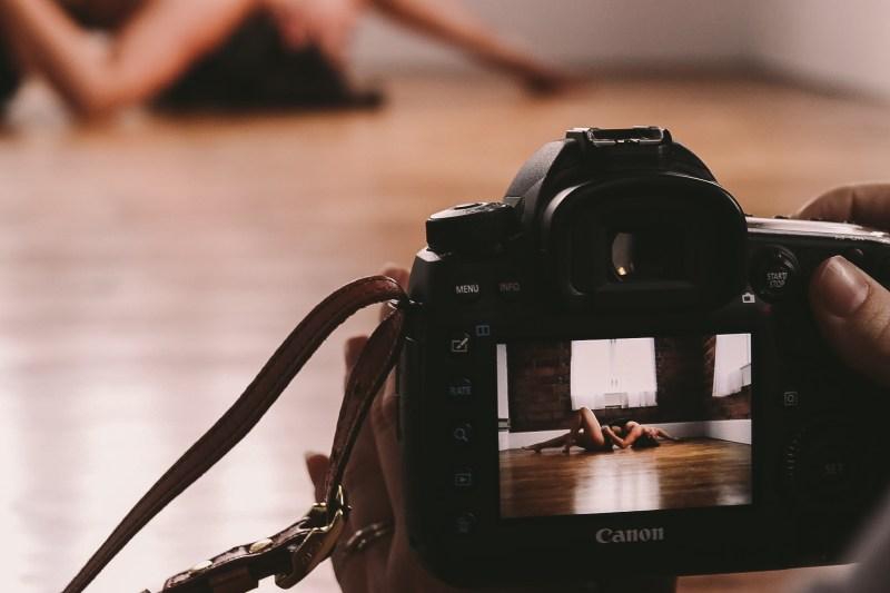 shooting boudoir photography