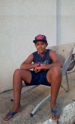 Brazilian kid with tattoos