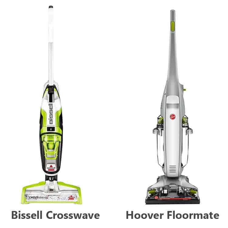 bissell crosswave vs hoover floormate