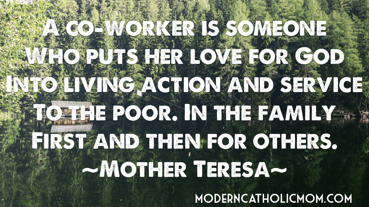Mother Teresa on Starting at Home