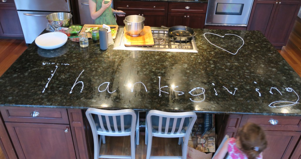 Don't just polish a counter -- do it in style. :)