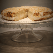 Keto tort Rafaello (Paleo, LowCarb, bez nabiału)