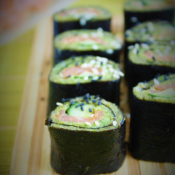 Zielone keto sushi (Paleo, LowCarb, AIP)