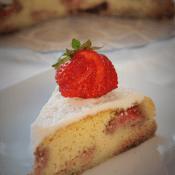 Keto ciasto z truskawkami (Paleo, LowCarb)