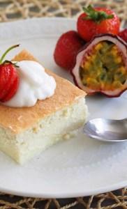 Keto Magic Cake (Paleo, LowCarb)
