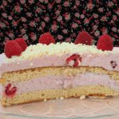 Keto tort malinowy – urodzinowy :) (Paleo, LowCarb)