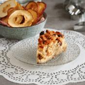 Sycylijskie keto ciasto z jabłkami (Paleo, LowCarb)