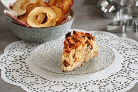 sycylijskie keto ciasto z jabłkami