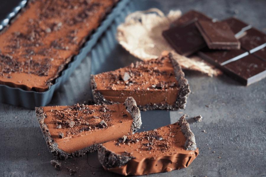 keto tarta czekoladowa