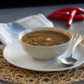Keto zupa pekińska (Paleo, LowCarb)