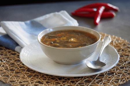 keto zupa pekińska