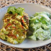 Keto kotlety jajeczno – brokułowe (Paleo, LowCarb)