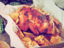 keto kurczak pieczony po azjatycku