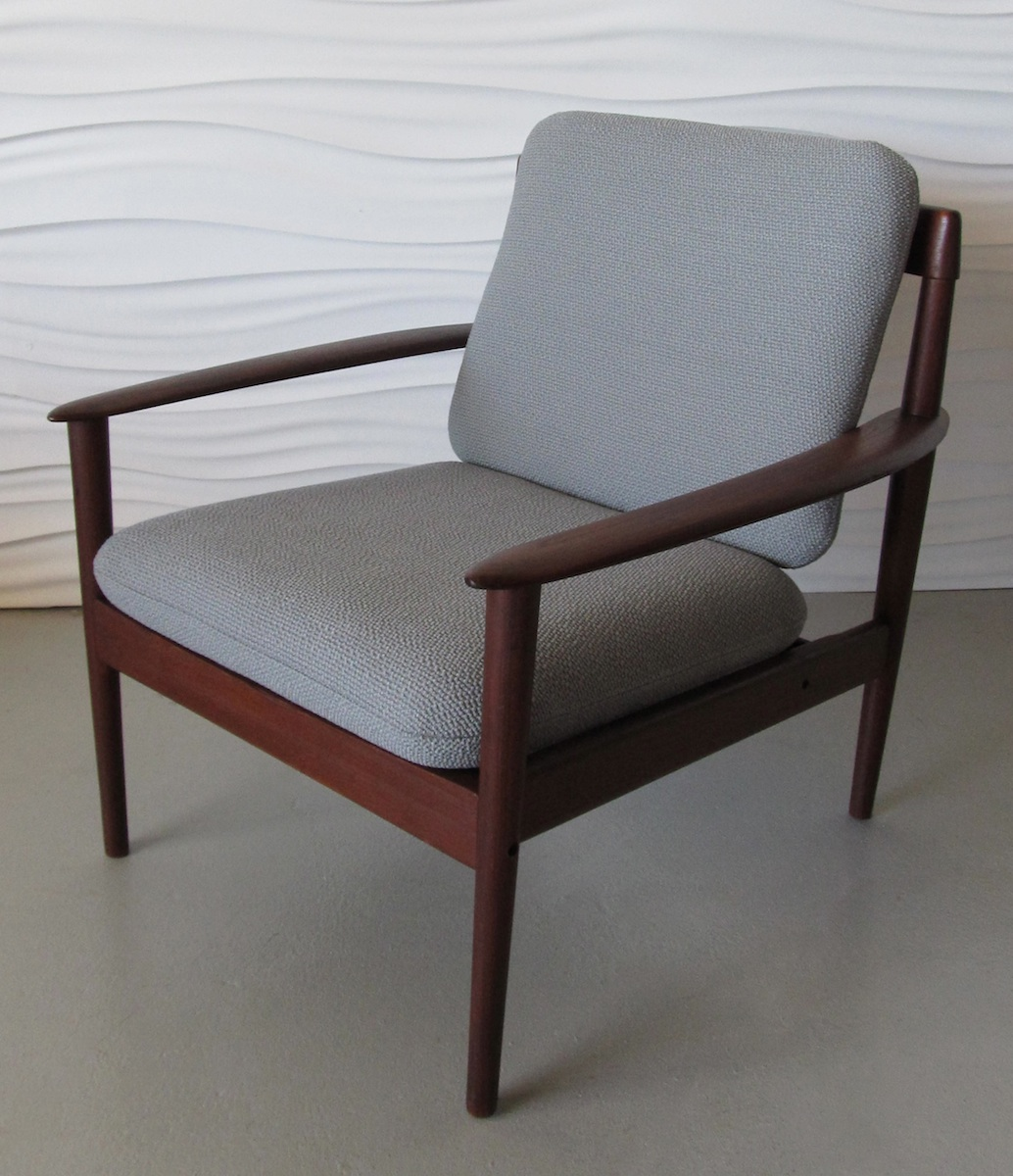Chair Restoration Grete Jalk Teak Lounge Chair Modern Chair Restoration