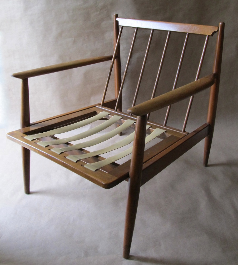 Danish Modern Lounge Chair Danish Modern Lounge Chair Modern Chair Restoration