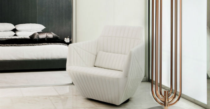 white chairs for bedroom blue side chair 15 beautiful modern bedrooms with a