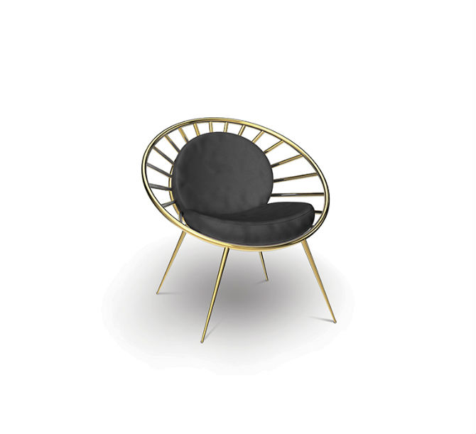 modern metal chairs poang chair cushion replacement inspirations for spring decorations 2