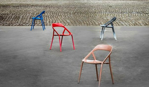 chair design brands wedding covers for sale australia famous modern chairs metal designed by michael young