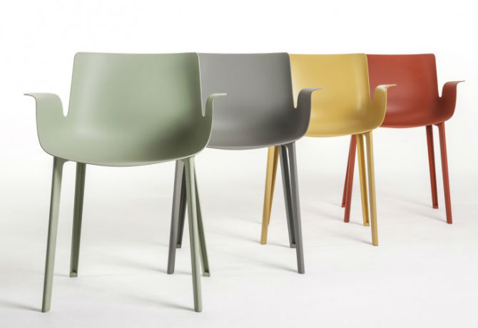 Kartell Talking Minds: New Modern Chairs at Salone del