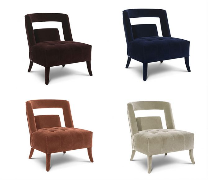 small arm chair purple bungee top 10 glamorous armchair designs for your living room