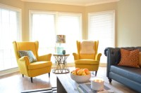 Colorful Modern Chairs: Summer Living Room Furniture