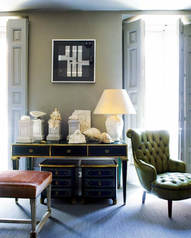 Living Room Designs With Modern Console Tables