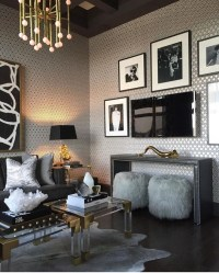 Living Room Ideas with Contemporary Console Tables
