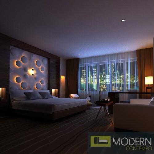 Modern Design Mdf 3D Wall Panel Led 3dwalldecor Led 3dboard Led 3d Wall Panel Headboard